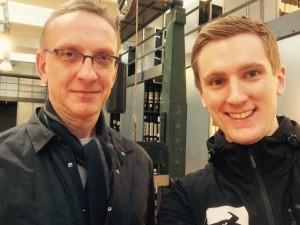 Kreativchef Hans Schreiber macht Weltmode in St. Gallen bei der Stickereifirma Forster Rohner.