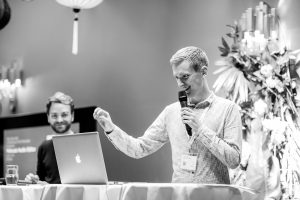 Angelo Zehr und Felix Unholz am SwissRadioDay (Foto: Amanda Nikolic)
